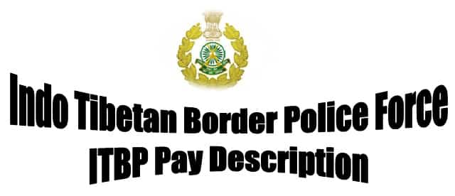 ITBP Pay Scale | ITBP Grade Pay | ITBP Salary | ITBP Allowance Perks